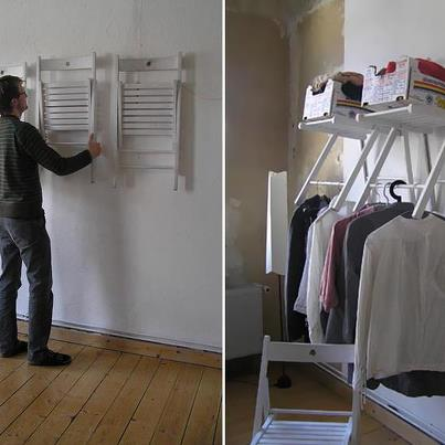 Closet Ideas: Repurposed
