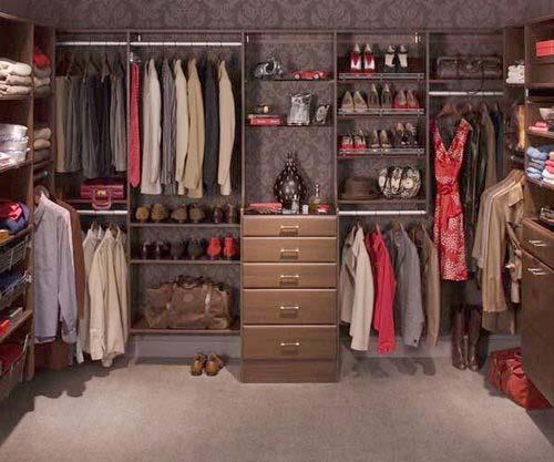 See these closets closet organization ideas for Cheap walk in closet ideas